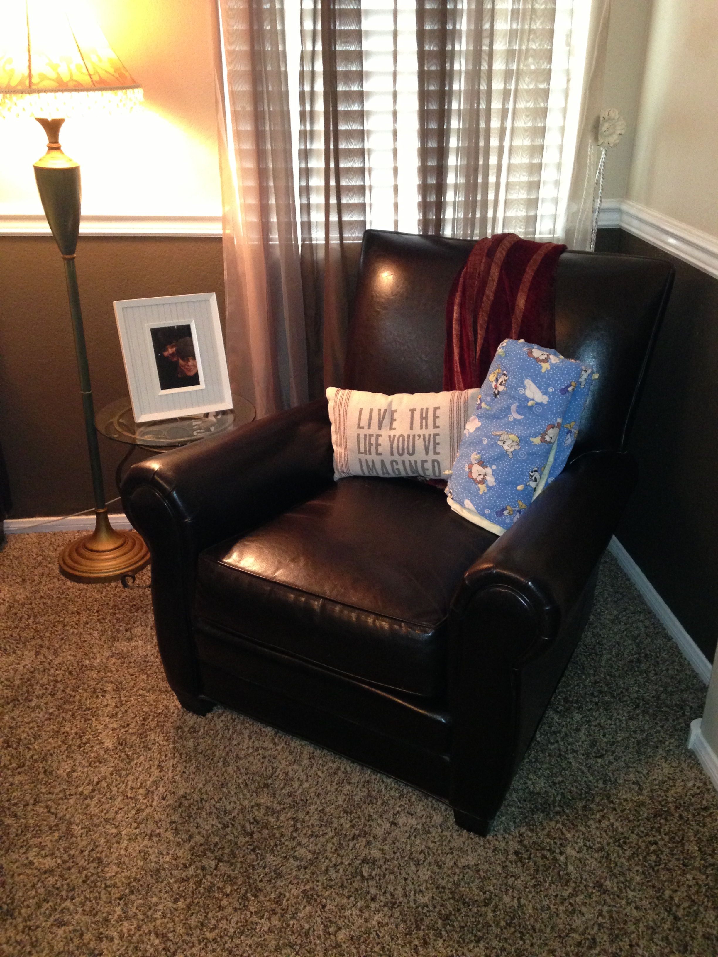 photo of brown chair